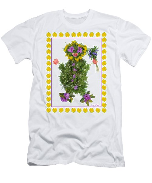 Flower Baby Men's T-Shirt (Athletic Fit)