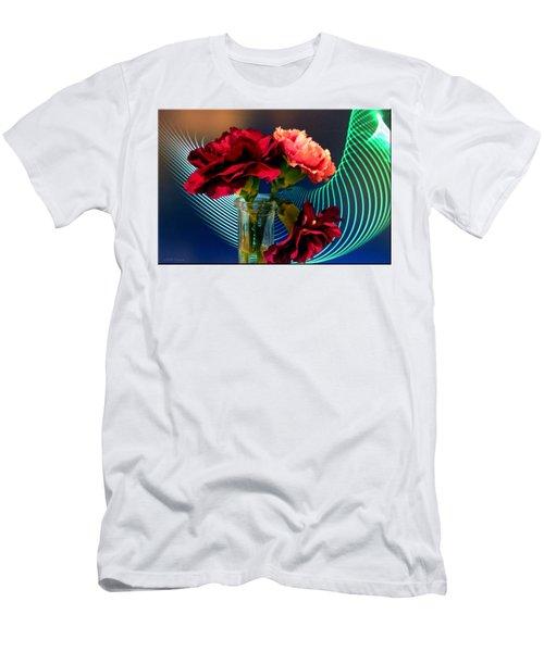 Flower Decor Men's T-Shirt (Athletic Fit)