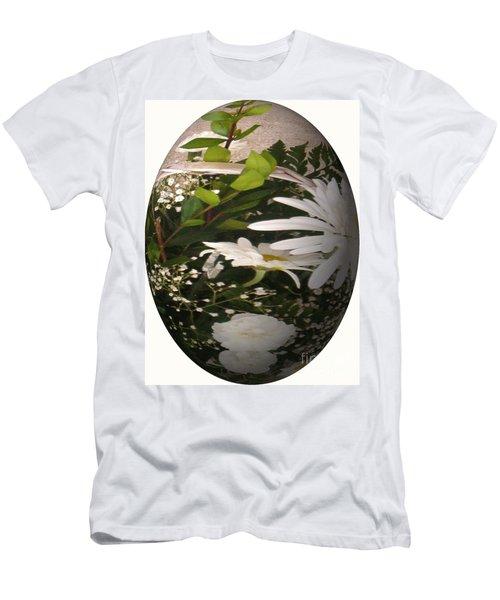 Flower Egg Men's T-Shirt (Athletic Fit)