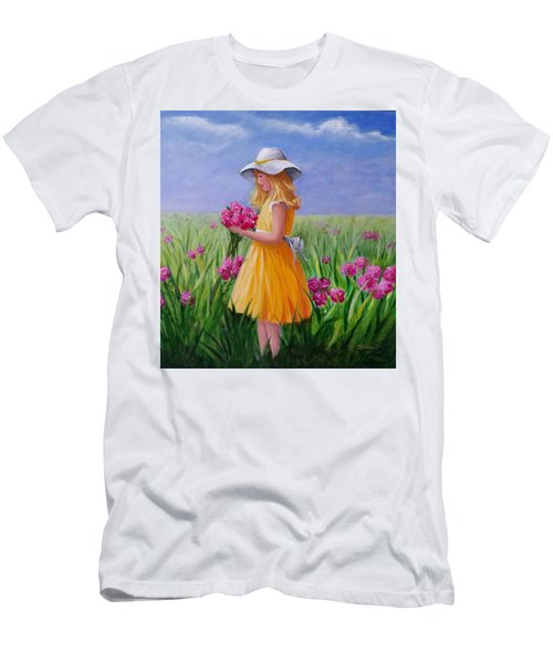 Flower Girl Men's T-Shirt (Athletic Fit)