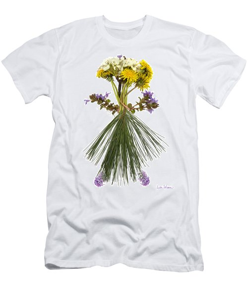 Flower Head Men's T-Shirt (Athletic Fit)
