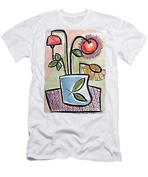 Flower Jug Men's T-Shirt (Athletic Fit)