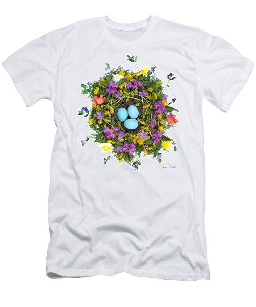 Flower Nest Men's T-Shirt (Athletic Fit)