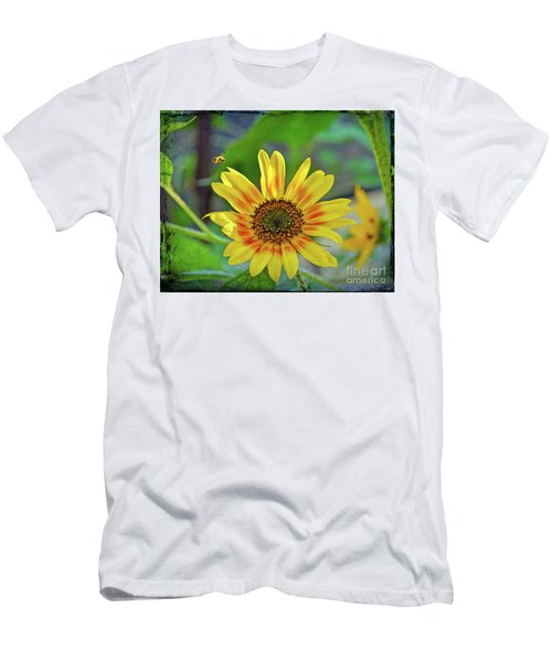 Men's T-Shirt (Athletic Fit) featuring the photograph Flower Of The Sun by Kerri Farley