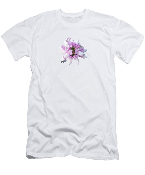 Flower Securigera Varia 2 Men's T-Shirt (Slim Fit) by Mike Breau