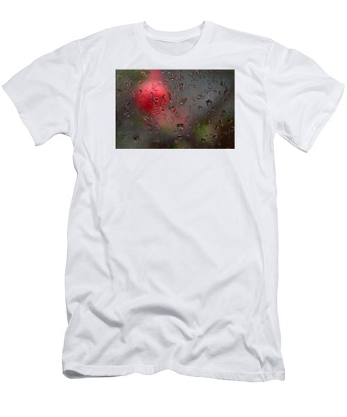 Flower Seen Through The Window Men's T-Shirt (Slim Fit) by Catherine Lau