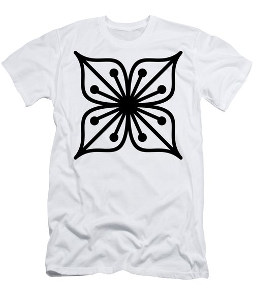 Men's T-Shirt (Athletic Fit) featuring the digital art Flower  by Donna Mibus