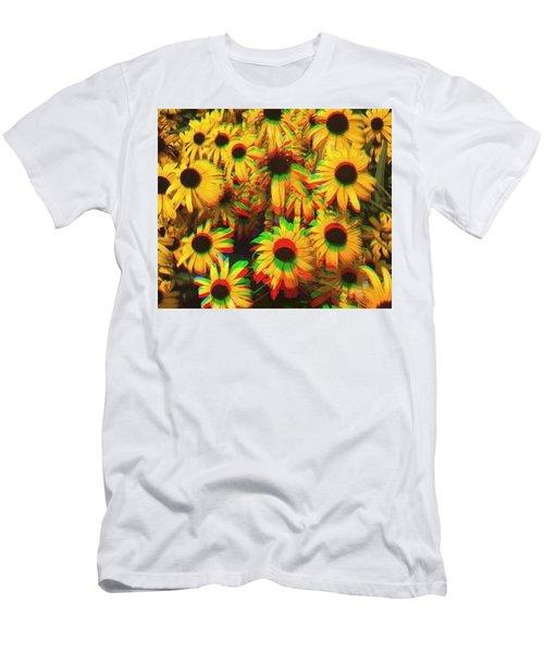Flower Trip Men's T-Shirt (Athletic Fit)
