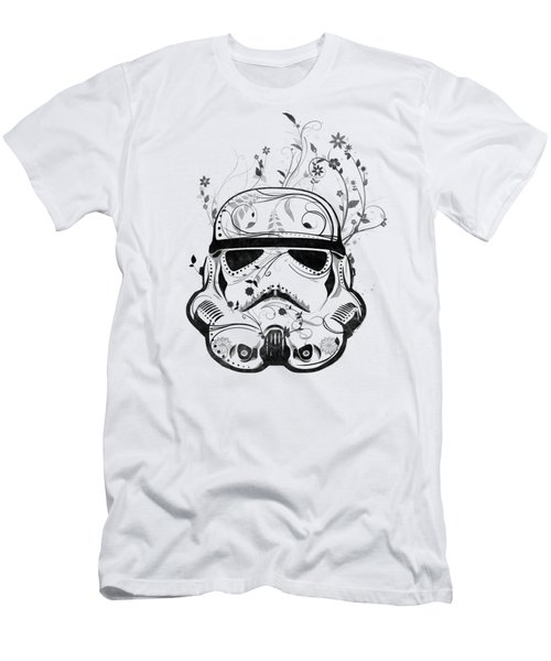 Flower Trooper Men's T-Shirt (Slim Fit) by Nicklas Gustafsson
