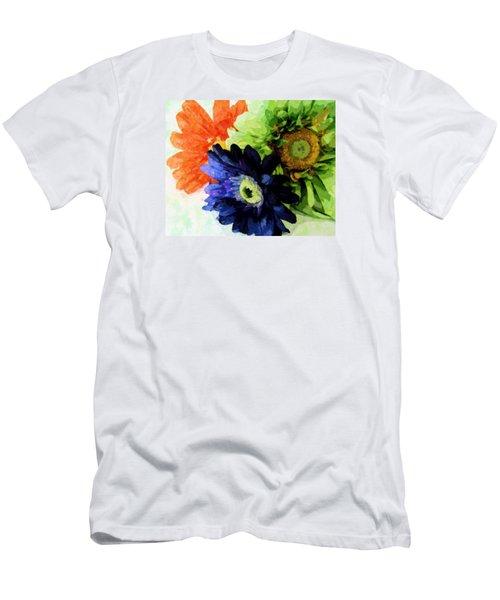 Flower X Three Men's T-Shirt (Athletic Fit)
