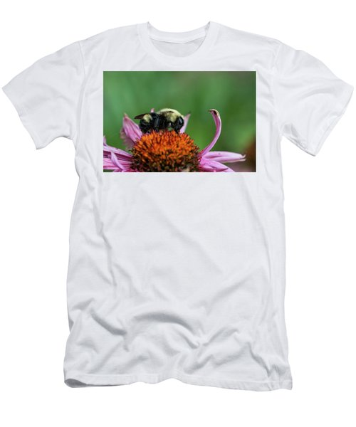 Flowerbee Men's T-Shirt (Slim Fit) by Nikki McInnes