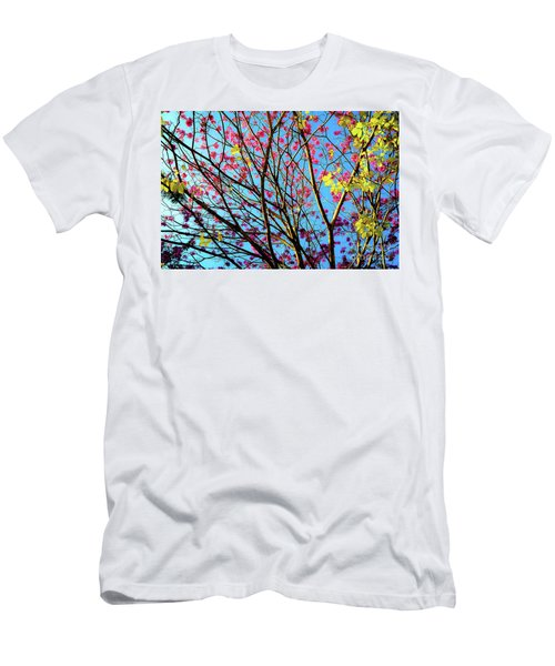 Flowers And Trees Men's T-Shirt (Athletic Fit)