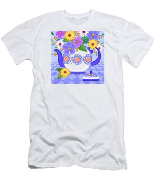 Flowers From My Garden Men's T-Shirt (Athletic Fit)