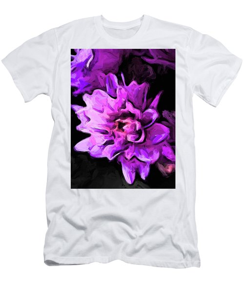 Flowers Of Lavender And Pink 1 Men's T-Shirt (Athletic Fit)