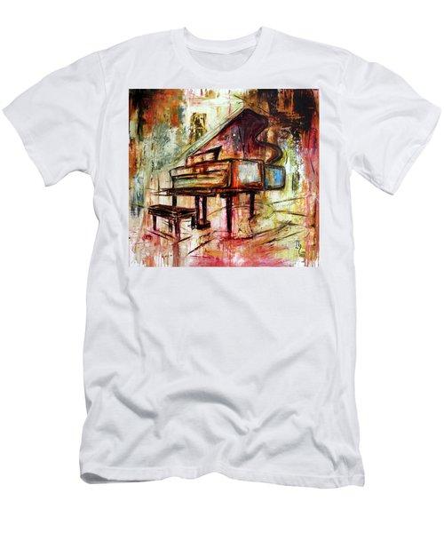 Flowing Notes Men's T-Shirt (Athletic Fit)