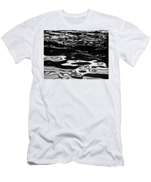 Fluid Abstract Men's T-Shirt (Athletic Fit)