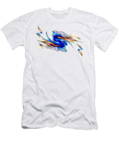Fluid Colors Men's T-Shirt (Slim Fit) by Fran Riley