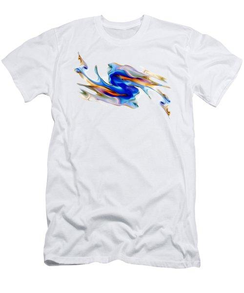 Fluid Colors Men's T-Shirt (Athletic Fit)