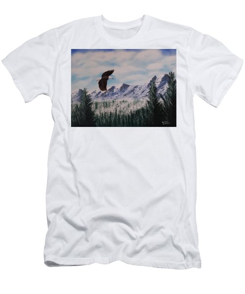Fly Like An Eagle Men's T-Shirt (Athletic Fit)