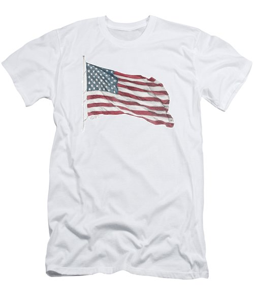 Flying Free Men's T-Shirt (Athletic Fit)