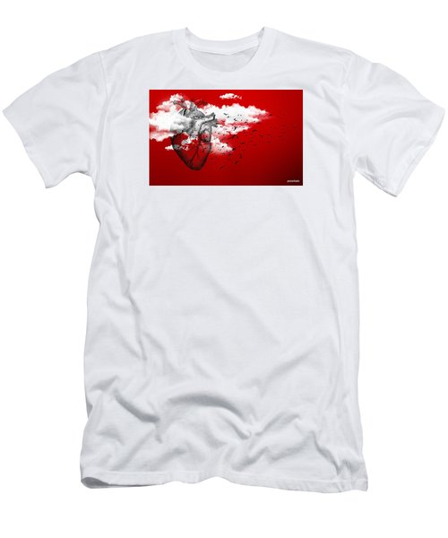Flying High Men's T-Shirt (Slim Fit) by Paulo Zerbato