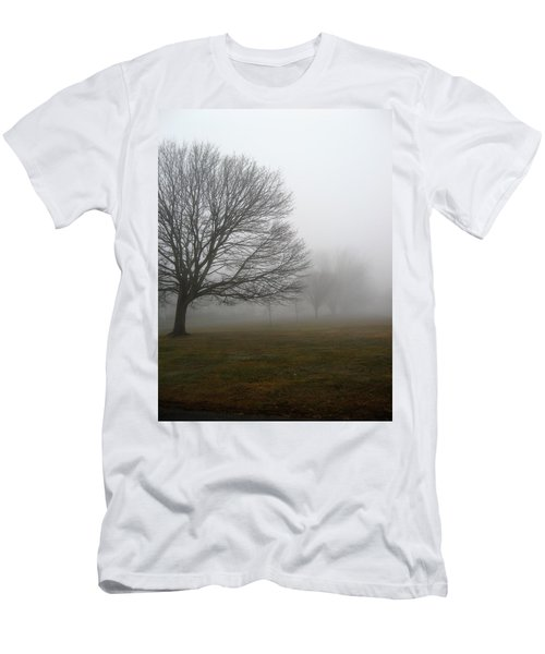 Men's T-Shirt (Slim Fit) featuring the photograph Fog by John Scates