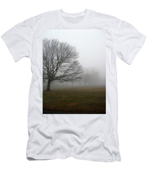 Fog Men's T-Shirt (Slim Fit) by John Scates