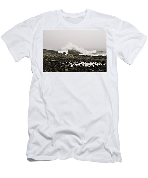 Foggy Day At The Coast Men's T-Shirt (Athletic Fit)