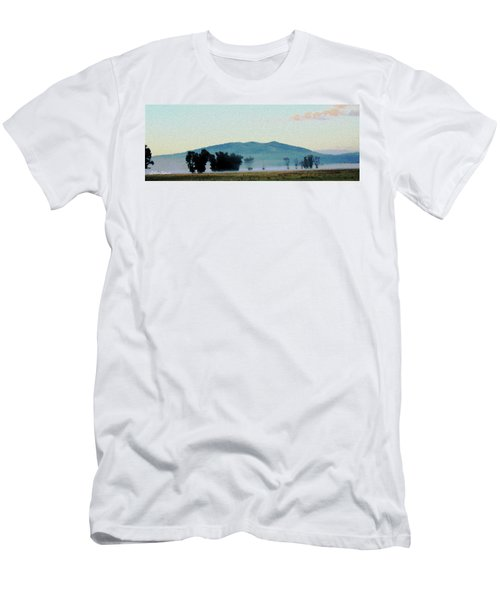 Foggy Field Men's T-Shirt (Athletic Fit)
