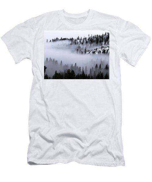 Foggy Mountain Pass Men's T-Shirt (Athletic Fit)