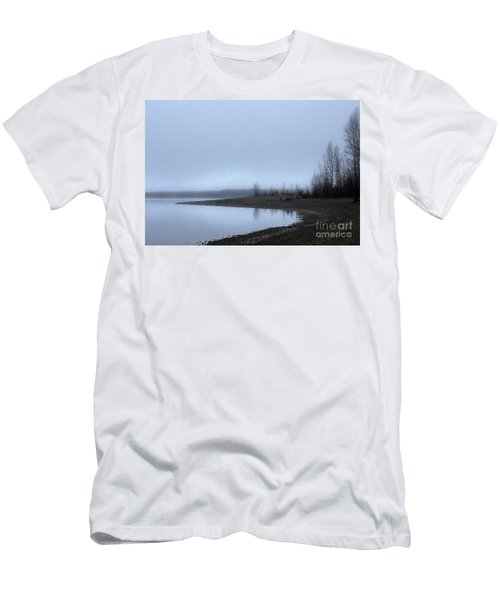 Men's T-Shirt (Slim Fit) featuring the photograph Foggy Water by Victor K