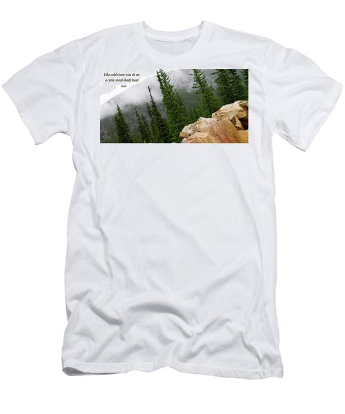Food For Thought Men's T-Shirt (Athletic Fit)