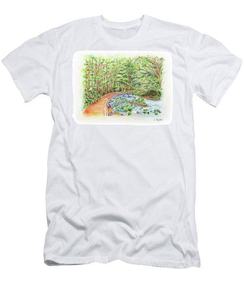 Footbridge Men's T-Shirt (Athletic Fit)