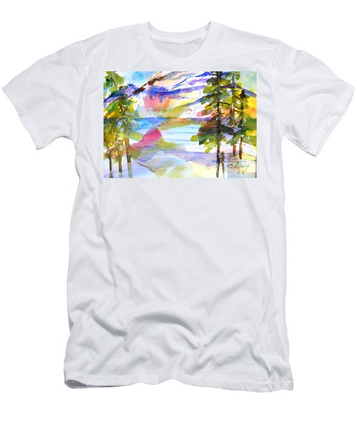 For Love Of Winter #1 Men's T-Shirt (Slim Fit) by Betty M M Wong