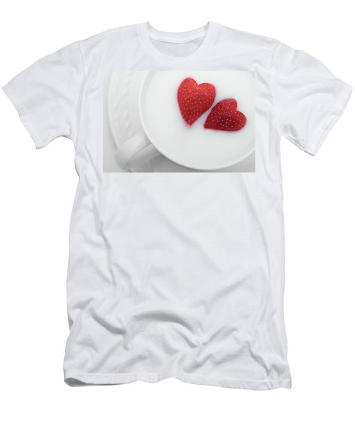 For Valentine's Day Men's T-Shirt (Athletic Fit)