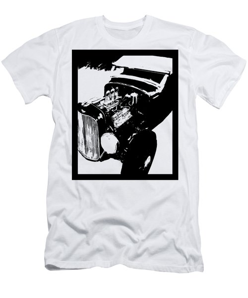 Ford Flathead Roadster Tee Men's T-Shirt (Athletic Fit)