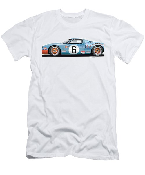 Ford Gt 40 1969 Men's T-Shirt (Athletic Fit)