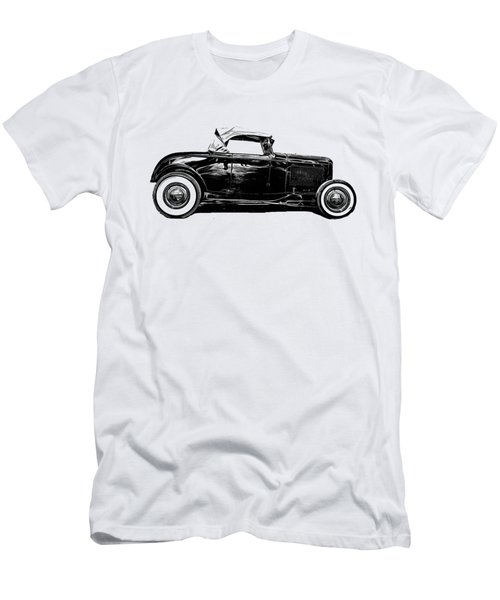 Ford Hot Rod Tee Men's T-Shirt (Athletic Fit)