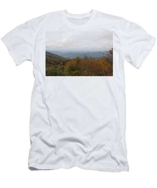 Forest Landscape View Men's T-Shirt (Athletic Fit)