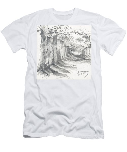Forest Lane At Gournay Men's T-Shirt (Athletic Fit)