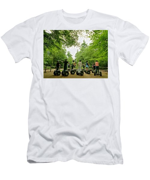Forest Segway Men's T-Shirt (Athletic Fit)