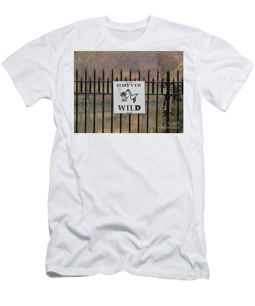 Forever Wild Men's T-Shirt (Athletic Fit)