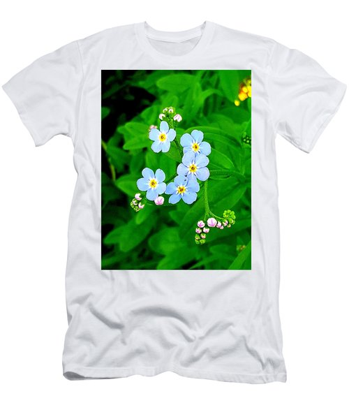 Forget Me Nots Men's T-Shirt (Athletic Fit)