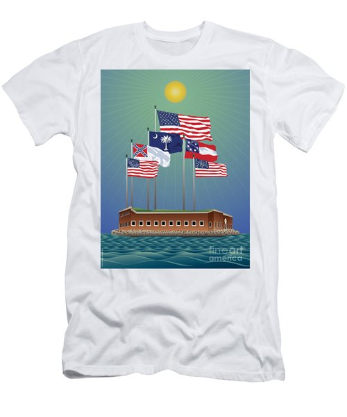 Fort Sumter, Charleston, Sc Men's T-Shirt (Athletic Fit)