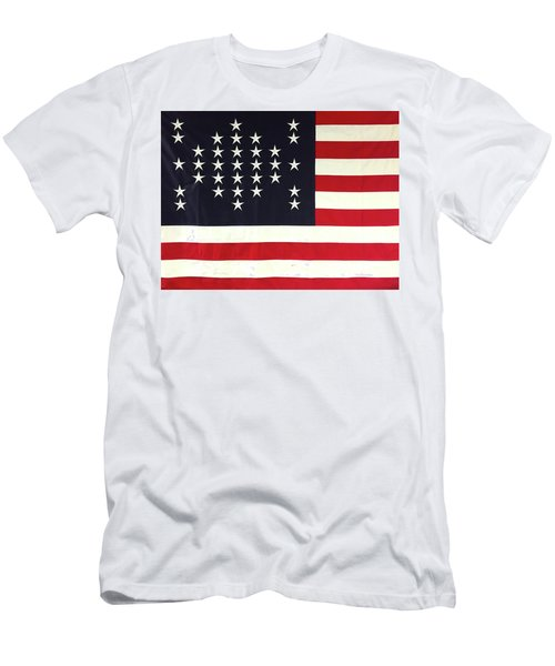 Fort Sumter Flag Men's T-Shirt (Athletic Fit)
