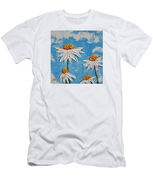 Four Daisies Men's T-Shirt (Athletic Fit)