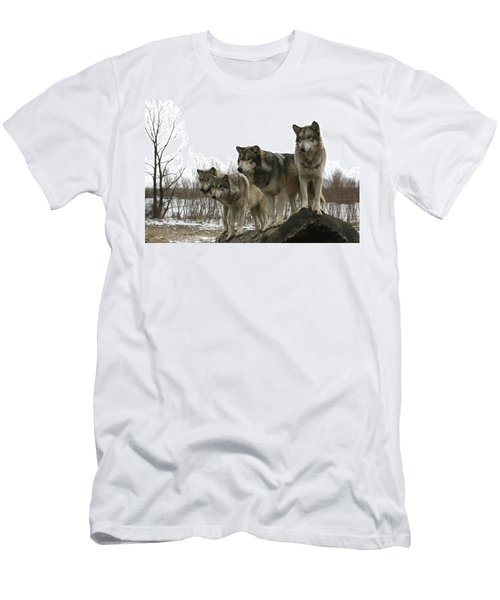 Men's T-Shirt (Slim Fit) featuring the photograph Four Pack by Shari Jardina