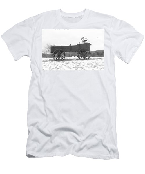 Men's T-Shirt (Slim Fit) featuring the digital art Four Wheel Drive by Barbara S Nickerson