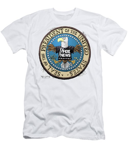 Fox News Presidential Seal Men's T-Shirt (Athletic Fit)