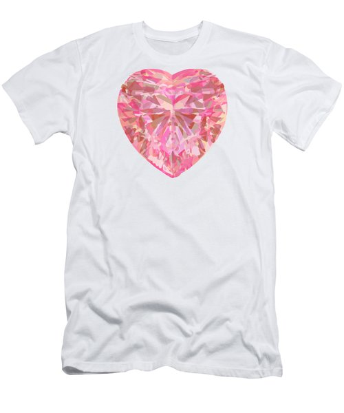 Fracked Heart Men's T-Shirt (Slim Fit) by Stan  Magnan